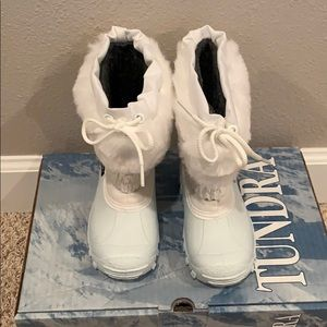 Tundra Shoes - Tundra Vail Toddler Snow Boots size 8